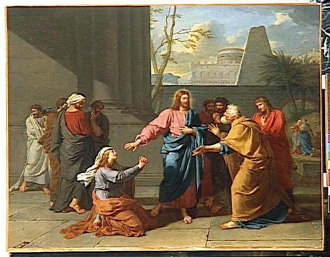 La fede della donna cananea dans immagini sacre