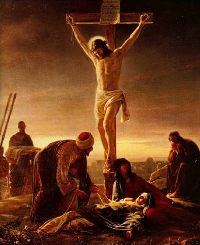 Crucifixion mary