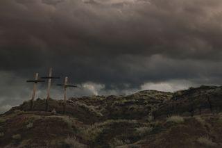 Dark cross