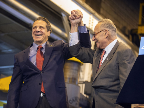 Governor-Andrew-Cuomo-and-Senator-Chuck-Schumer