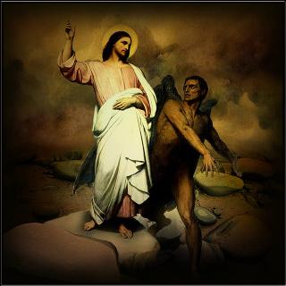 Jesus-tempted-in-the-desert