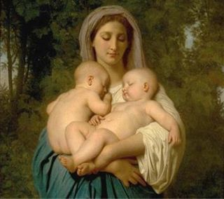 Mary-wth-two-babies