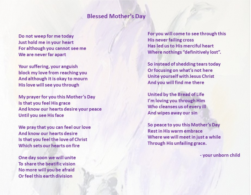 Mothersday poem