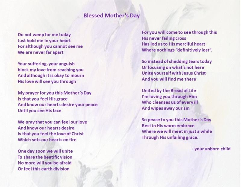 Mothersday poem